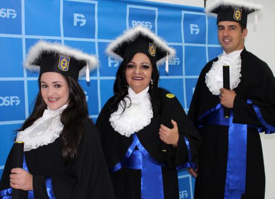 FG realiza cerimônia de formatura de Processos Gerenciais